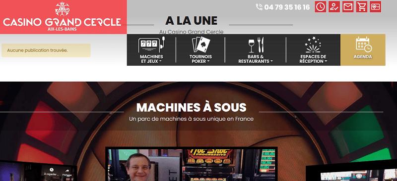Jouer au poker au Casino d'Aix les Bains