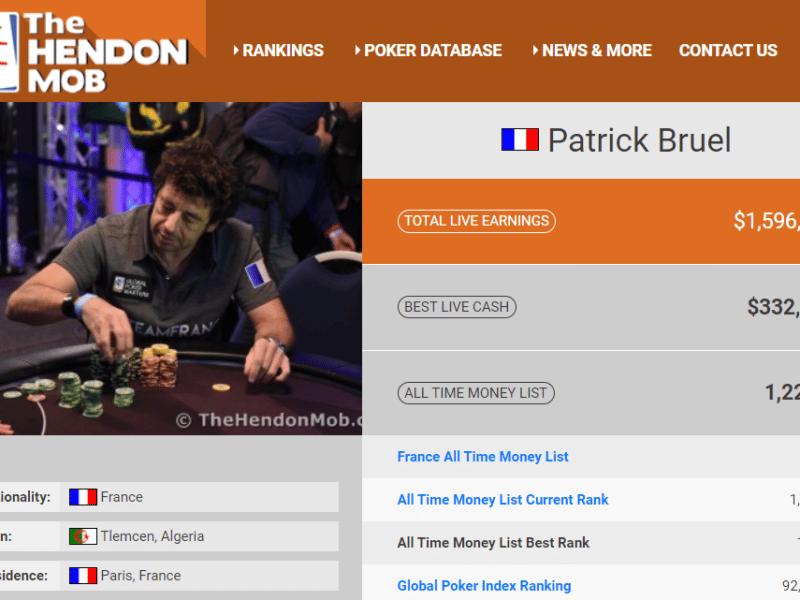 Patrick Bruel : quel est son palmarès au poker ?
