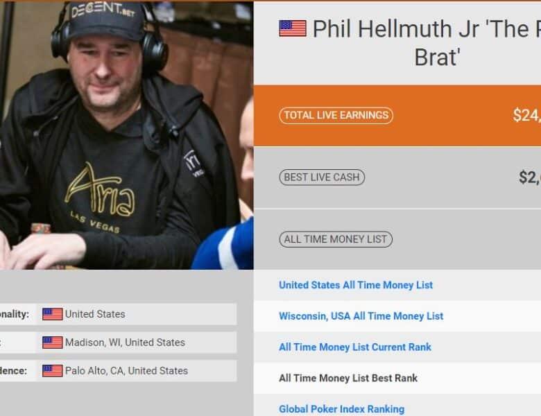 Phil Hellmuth : biographie et palmarès